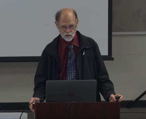 Bill Grant giving SVI talk